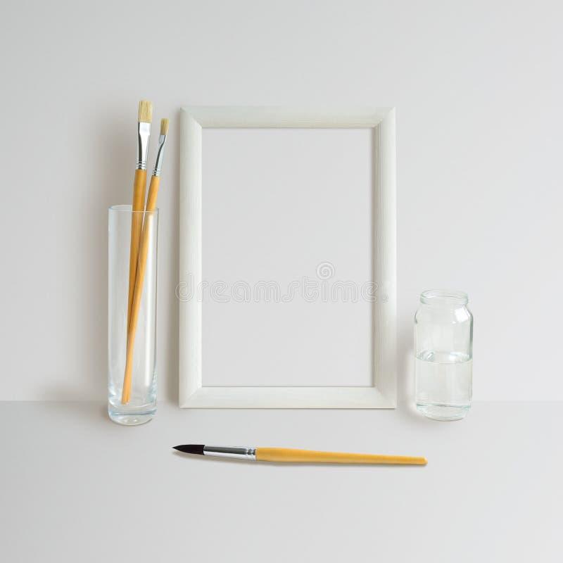 Derisione della struttura su fotografia stock libera da diritti