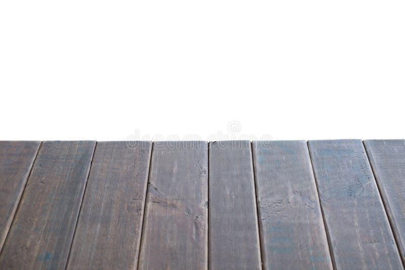 Derisione di legno nera vuota della tavola su, fondo astratto, struttura immagini stock libere da diritti
