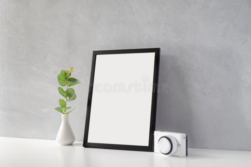 Derisione su del telaio della foto immagine stock