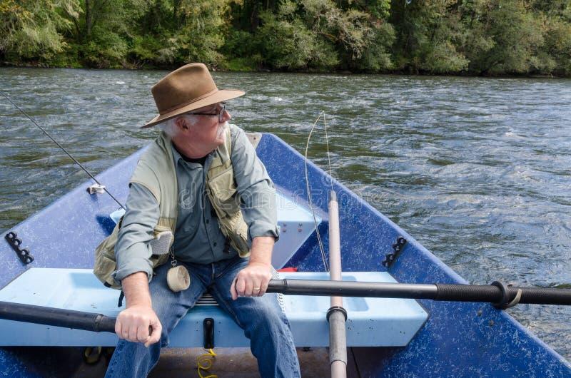 Deriva rio abajo foto de archivo libre de regalías