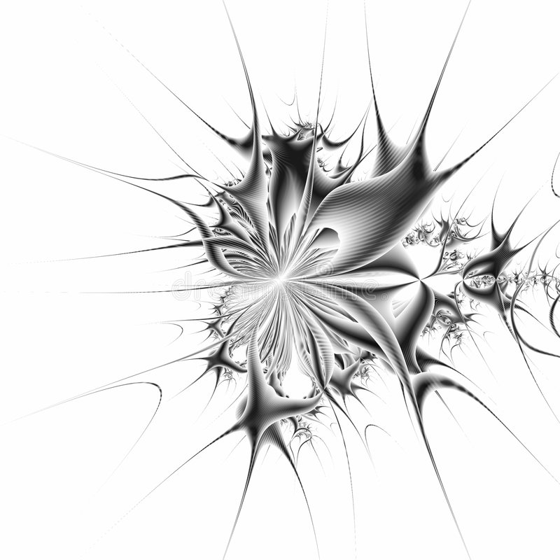 Derivated Mandelbrot royalty free illustration