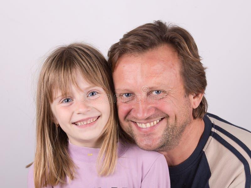 Derivato e papà fotografie stock libere da diritti