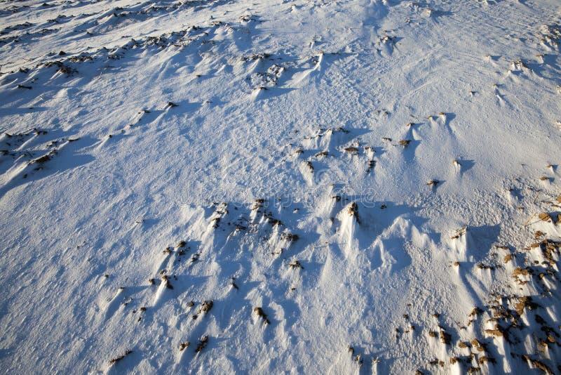 Derive della neve nell'inverno immagini stock libere da diritti