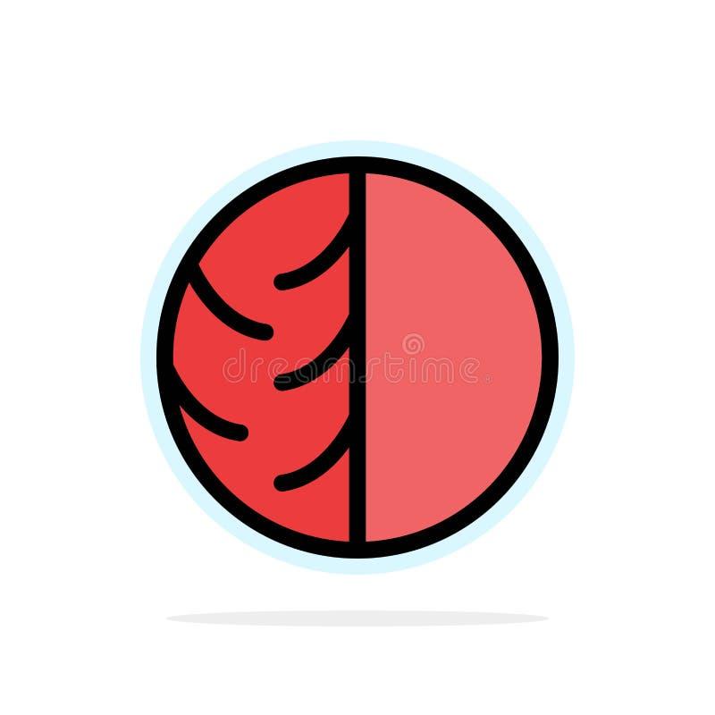 Dermatólogo, dermatología, piel seca, piel, cuidado de piel, piel, icono plano del color de fondo abstracto del círculo de la pro libre illustration