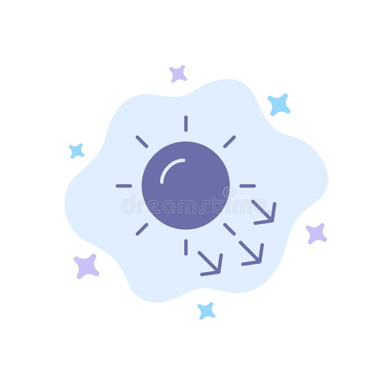 Dermatologia, Sucha skóra, skóra, skóry opieki Błękitna ikona na abstrakt chmury tle royalty ilustracja