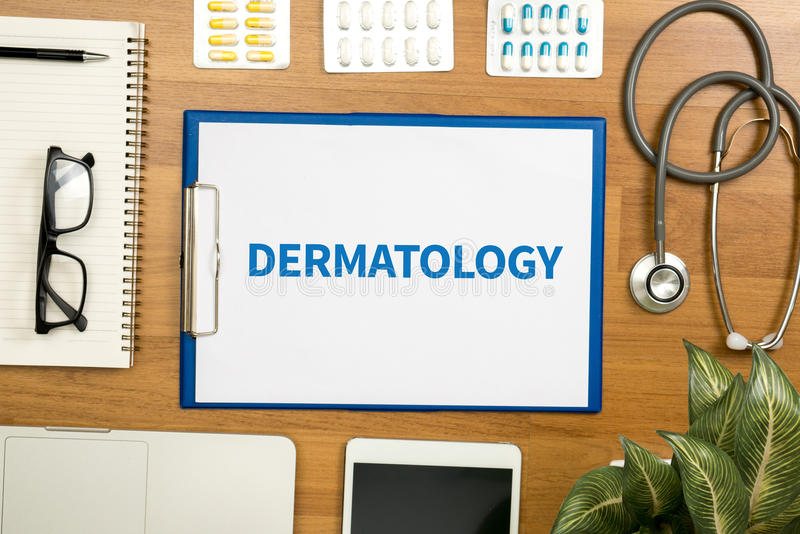 dermatology royalty-vrije stock fotografie