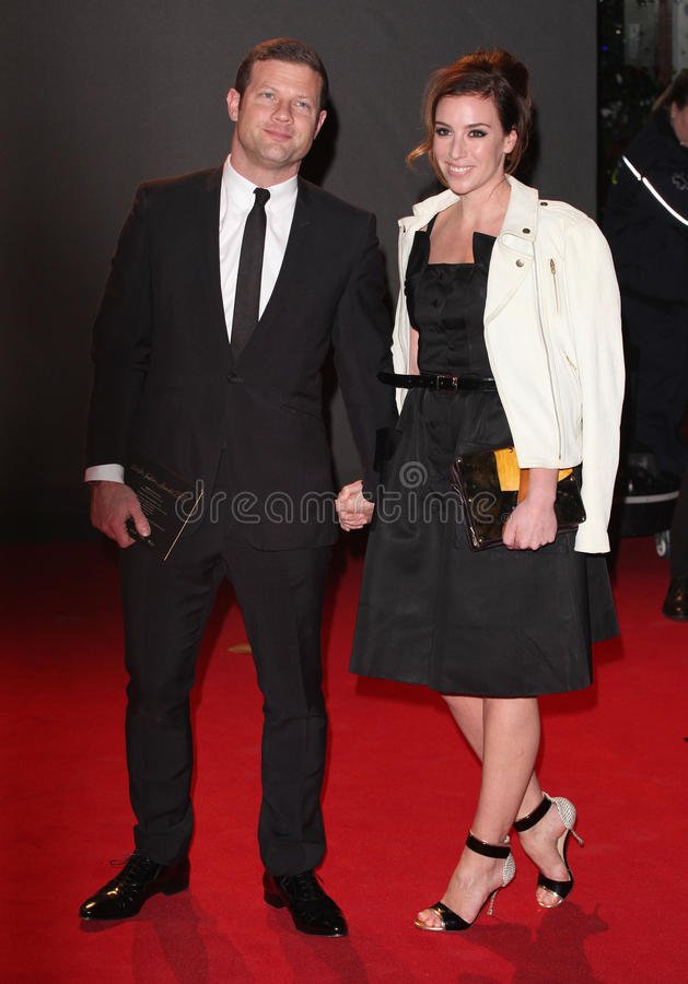 Dermot O'Leary. And wife Dee arriving for the 2013 British Fashion Awards, at The London Coliseum, London. 02/12/2013 Picture by: Alexandra Glen / Featureflash stock photography