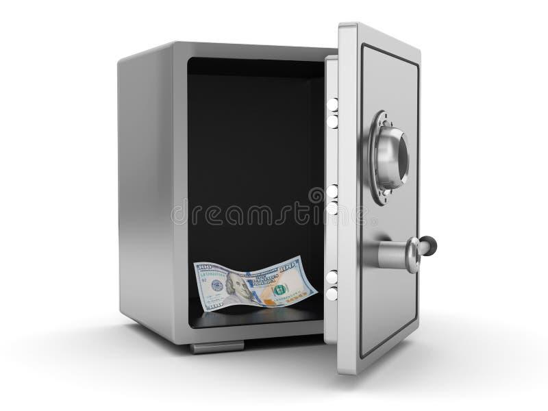 Dernier argent illustration de vecteur