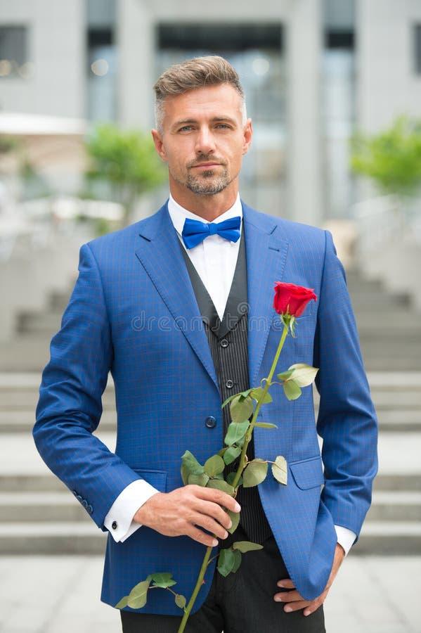 Dernier célibataire sur terre Jour et anniversaire de valentines Services de datation Comment être romantique Monsieur romantique images stock
