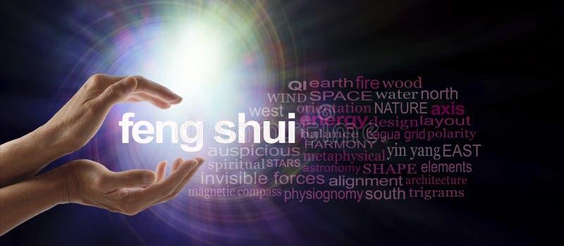 Derramando a luz em Feng Shui fotografia de stock royalty free