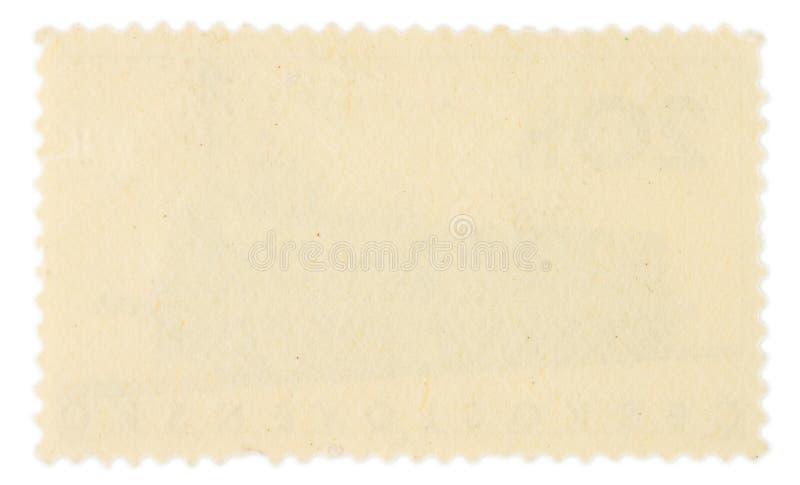 Derrière de timbre-poste images libres de droits