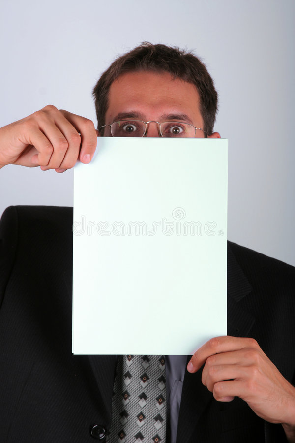 Derrière le papier photographie stock libre de droits