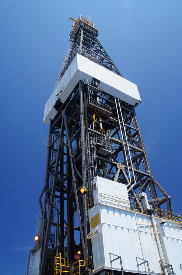 Download Derrick Of Offshore Jack Up Drilling Rig Royalty Free Stock Photography - Image: 26630667