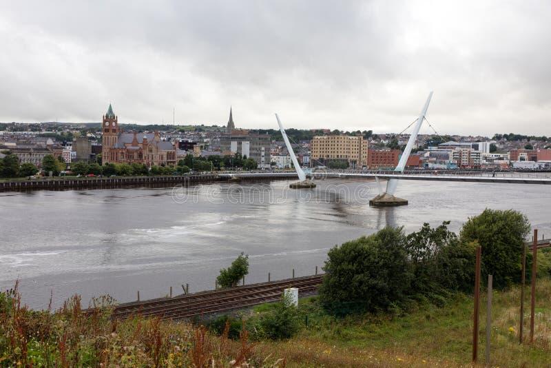 Derry风景  免版税库存照片