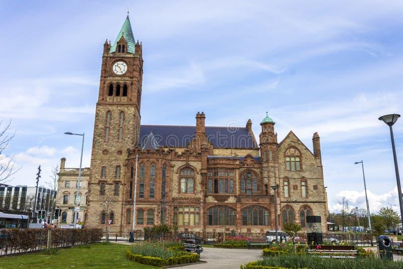 Derry, Nordirland lizenzfreie stockfotografie