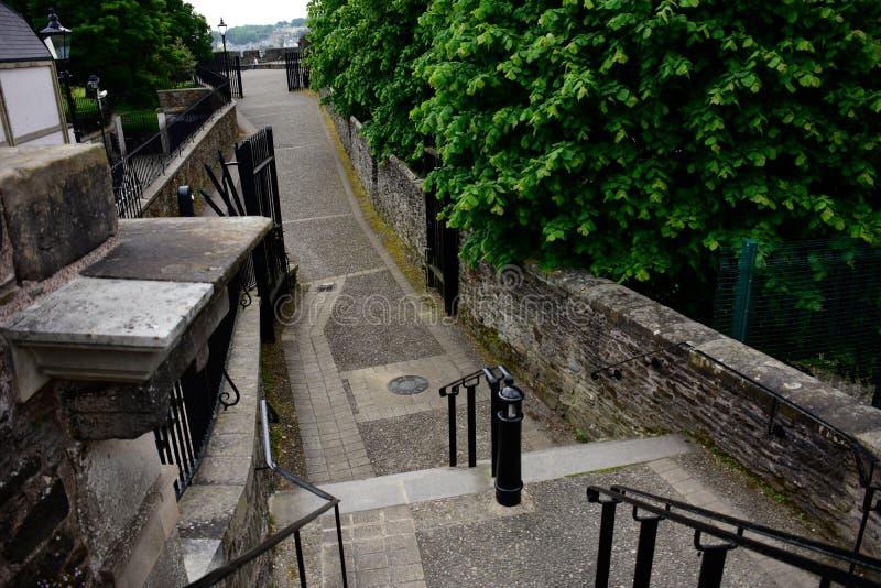 Derry Wall image libre de droits