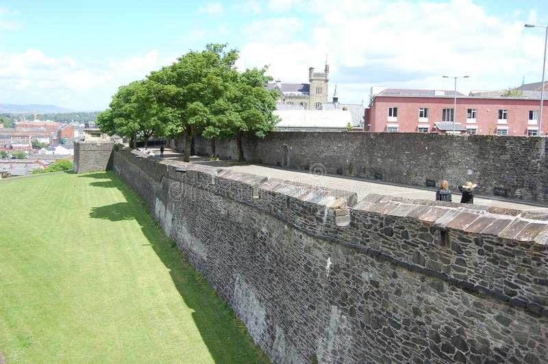 Derrycitywalls royalty free stock images