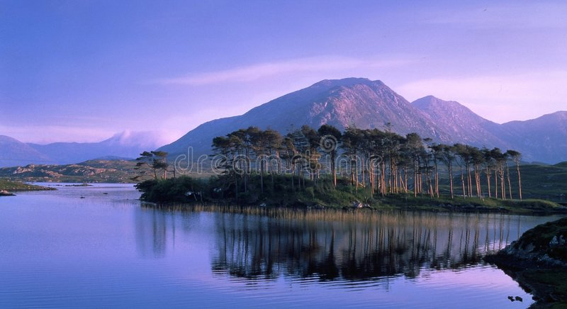 Derryclare, Connemara, Co. Galway royalty free stock photo