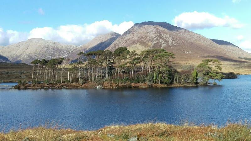 Derryclare lake royalty free stock image