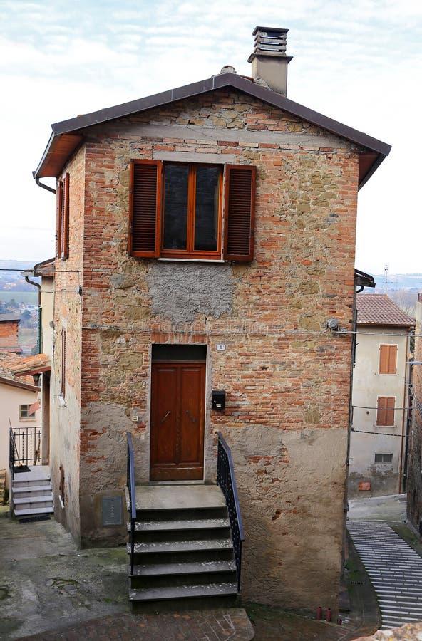 Deruta é uma cidade montanhosa na província de Perugia, região da Úmbria, no centro de Itália fotos de stock royalty free