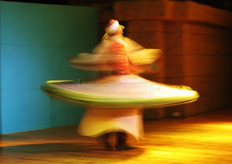 dervish χορών στοκ εικόνες με δικαίωμα ελεύθερης χρήσης