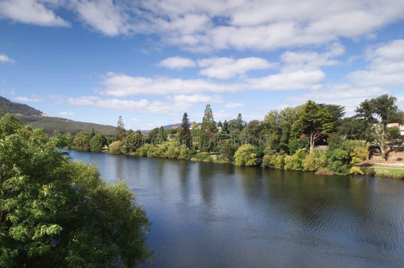 Derwent Fluss, Tasmanien lizenzfreie stockbilder