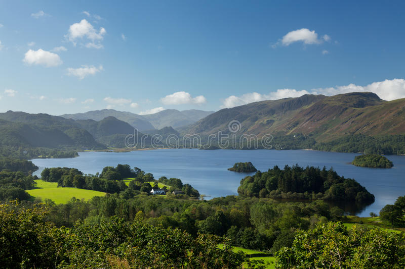 Download Derwent Water From Castlehead Viewpoint Stock Photo - Image: 26729156