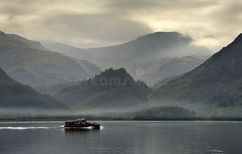 Derwentwater, Cumbria, Angleterre photographie stock