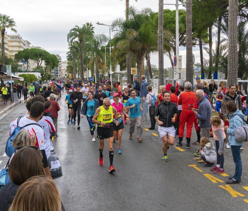 DES Alpes Maritimes Cannes agradável imagens de stock royalty free