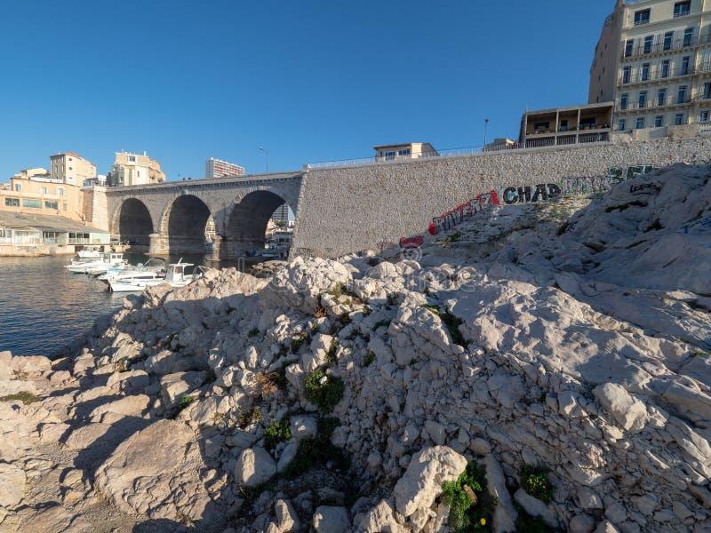 DES Aufes de Valon en Marsella, Francia imagen de archivo libre de regalías