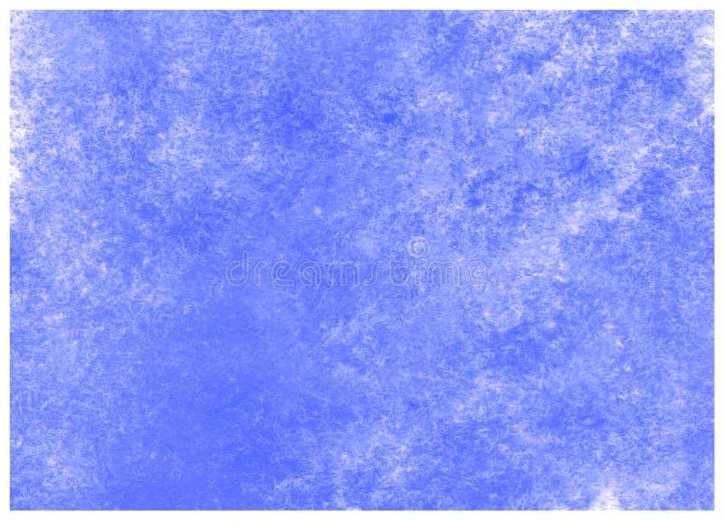 Des blauen Makrobeschaffenheitshintergrund Zusammenfassungsaquarells der Nebelflecke Hohe Aufl?sung lizenzfreie abbildung