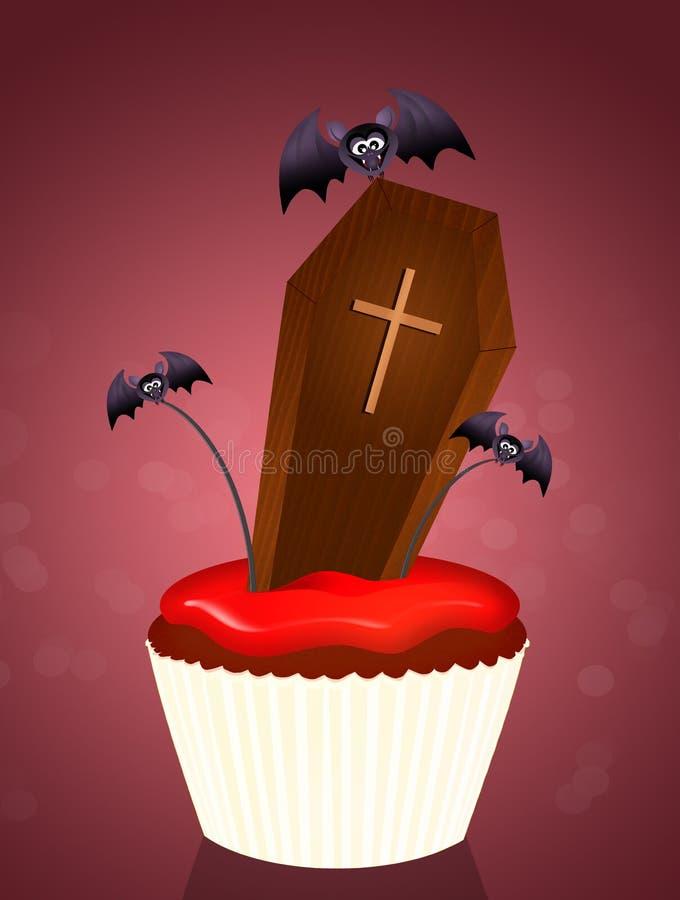 Des bonbons ou un sort de Halloween illustration libre de droits