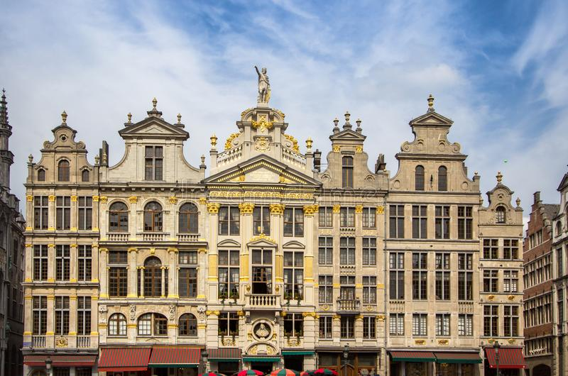 DES Brasseurs, Bruxelles, Belgique de Maison de La photos libres de droits