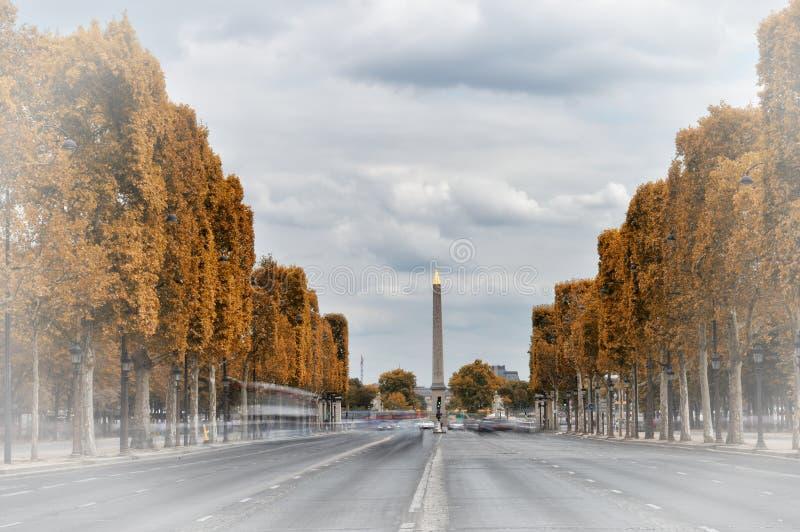 DES Champs-Elysees, Parigi del viale fotografia stock