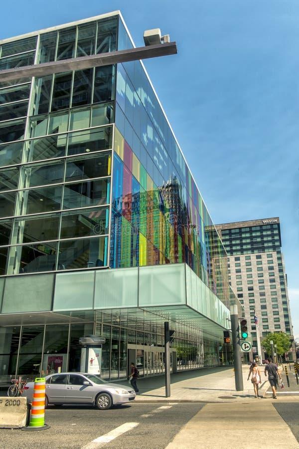 DES Congrès de Montréal Palais photographie stock libre de droits