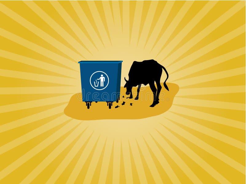 Des déchets animaux de consommation images stock