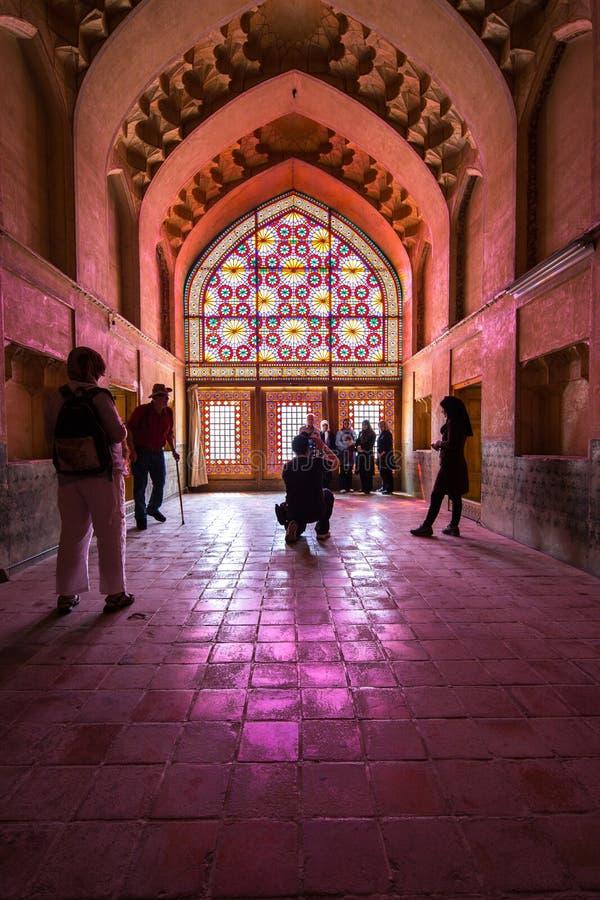 Des Die Wölbung Arg-e Karim Khans, Shiraz, der Iran lizenzfreie stockbilder