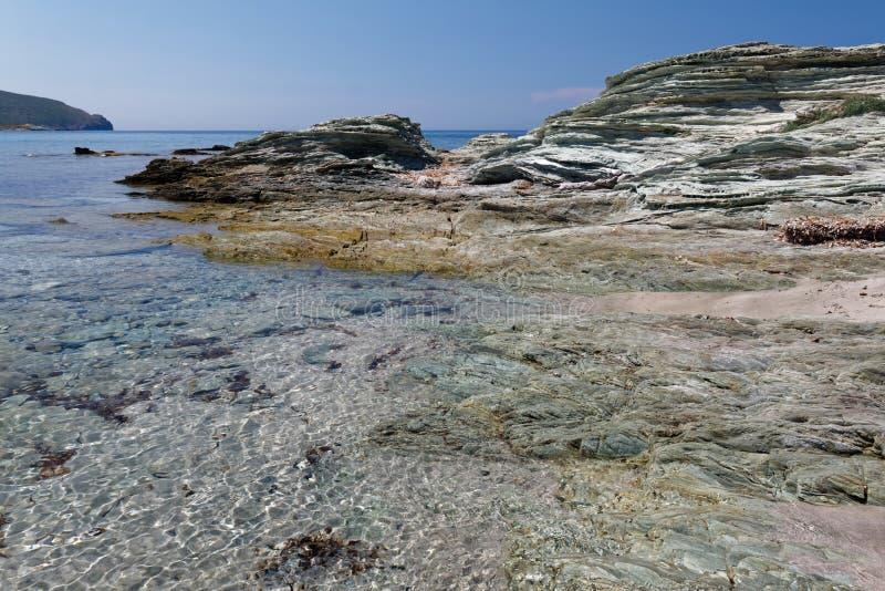 DES Douaniers, Corsica 05 di Sentier immagini stock libere da diritti