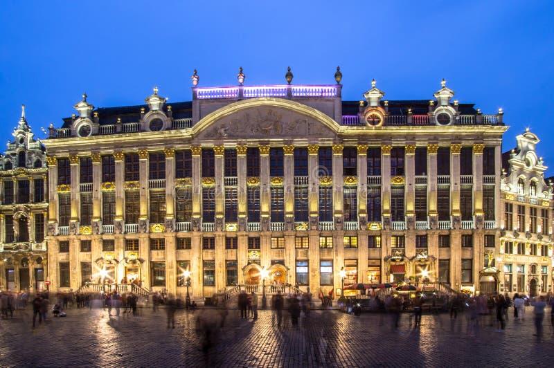 Des Ducs de Брабант Maison в Brussel, Бельгии стоковая фотография