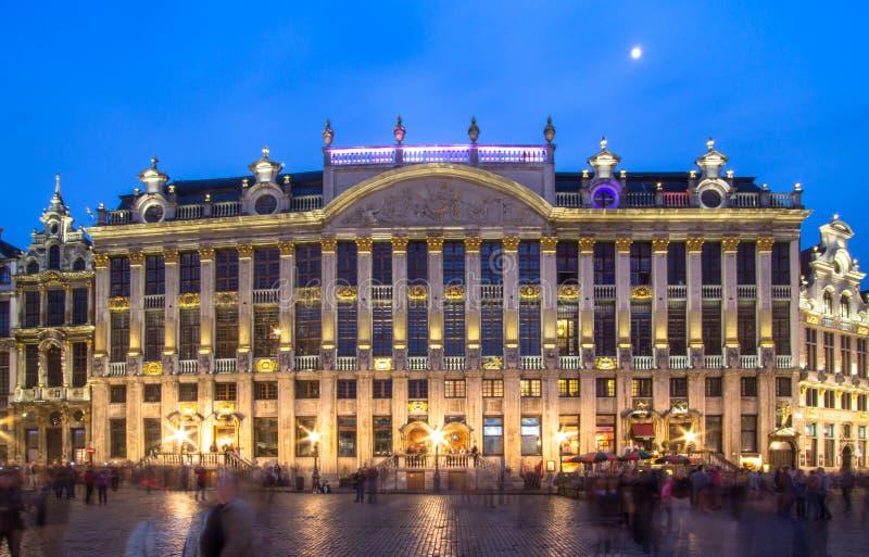 DES Ducs de Brabante de Maison em Bruxelas, Bélgica imagens de stock