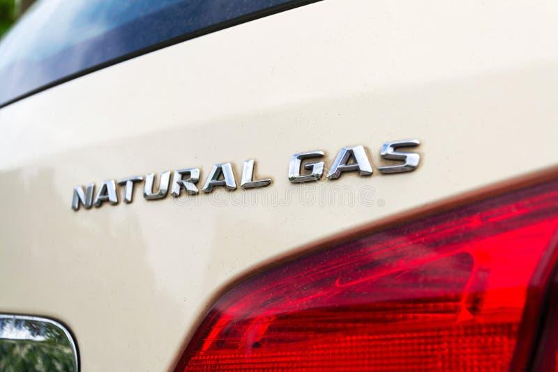 Des Erdgas-Antriebs NGD Mercedes-Benzs B200 Auto lizenzfreie stockbilder