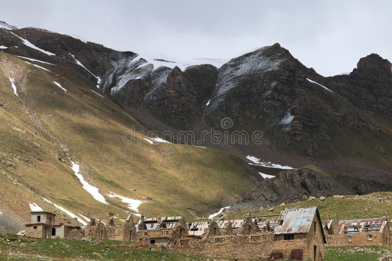 Des Fourches лагеря, морские Альпы в Франции стоковое фото