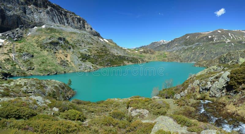DES Gloriettes de la laca en los Pirineos franceses foto de archivo