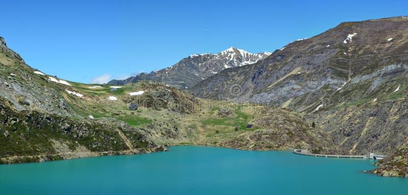 DES Gloriettes de la laca en los Pirineos franceses imagen de archivo libre de regalías