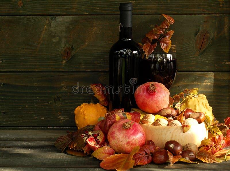 Des Herbstes Leben noch lizenzfreies stockbild