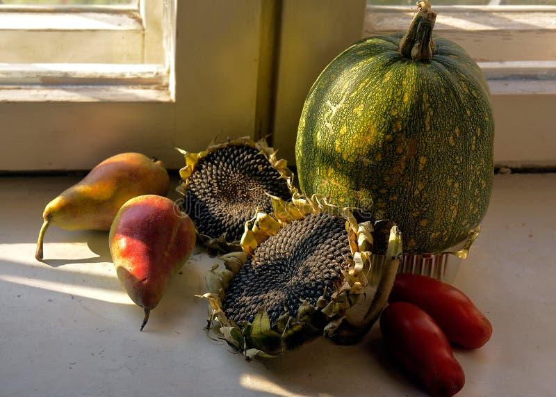 Des Herbstes Leben noch Reife Frucht lizenzfreie stockbilder
