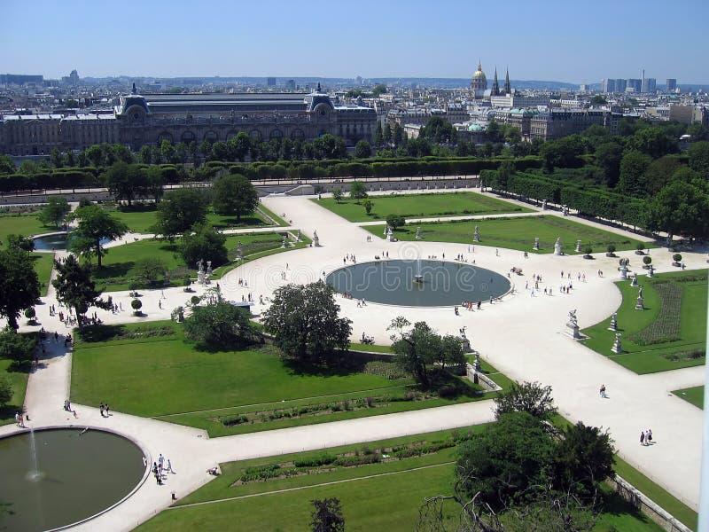des jardin tuileries zdjęcia royalty free