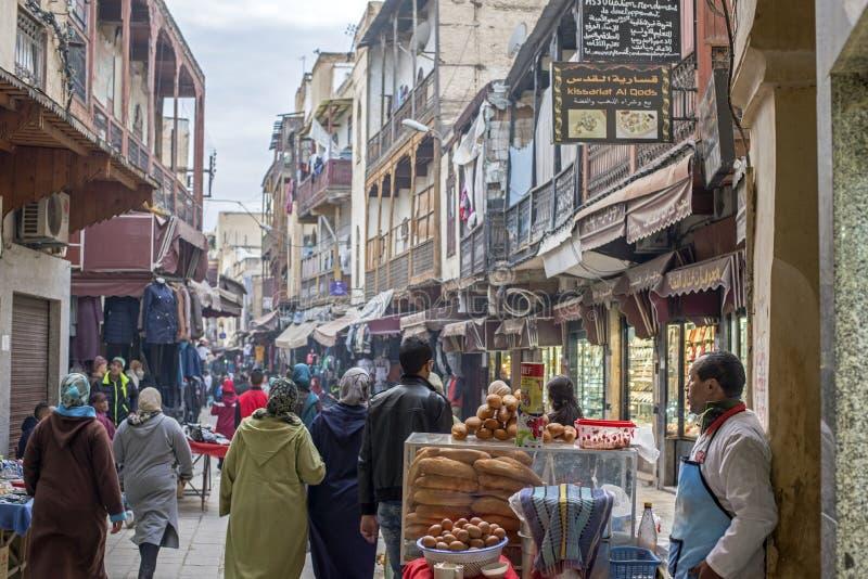 Download DES Merinides Da Rua Em Mellah, Quarto Judaico, EL Jdid Do Fez Marrocos Imagem Editorial - Imagem de quarto, facades: 65575520