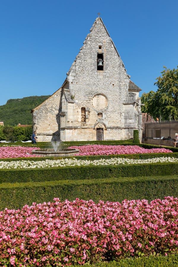 DES Milandes do castelo, um castelo no Dordogne, imagens de stock