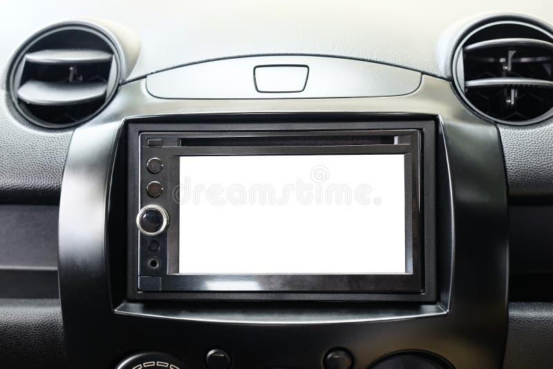 Des Modells intelligentes System des Multimedia-Bildschirm- für Automobil lizenzfreies stockbild